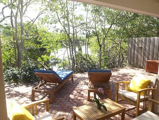 2 Bdrm/1Bth Waterfront. Wilton Manors. Private Patio, Parking