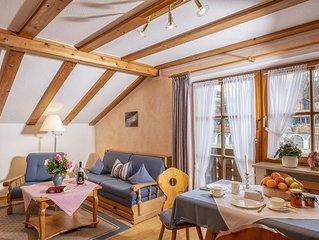 Ferienwohnung fur 1-2 Personen, mit 2 Balkonen