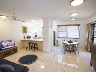 2 Bedroom / 2 Bathroom Apartment / Cairns Central