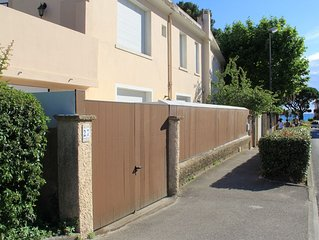 Maison renovee 88 m2, 2 ch, 6 couchages, terrasses,  garage (10m2), plage - 100m