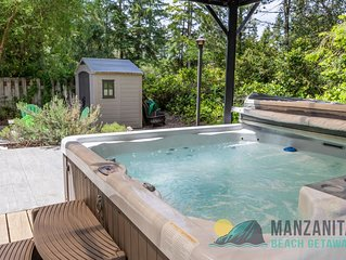Sandpiper Surf Oasis! Hot Tub, Fire Pit, close to beach and Nehalem State Park!