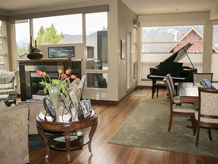 Downtown Penthouse with private hot tub In the Canadian Rockies sleeps 6