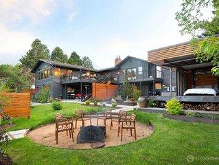 A luxury Bozeman retreat that sleeps 8, a true recreational paradise