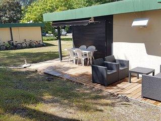La maison de vacances au milieu de 70 hectares de pin a 2 pas de la plage