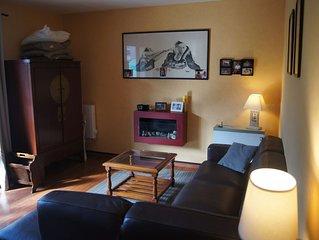 Appartement 2 chambres dans cité thermale de basse montagne