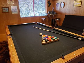Sweet Cabin, Pool Table, great for families & couples
