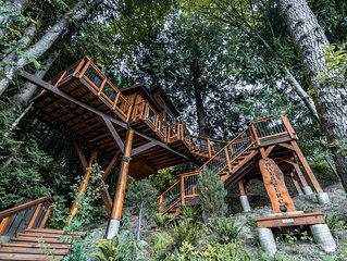 Owl's Perch Treehouse Private Treetop Escape