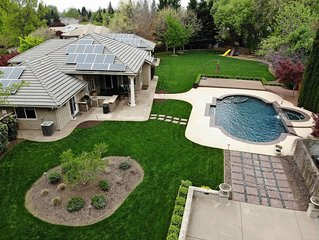 Luxury Home with Pool, Game Room, Outdoor Gym on 1 acre manicured lot
