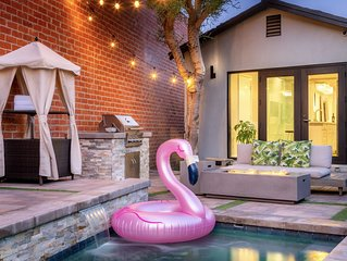 Heated Pool & Jacuzzi Located In LA. Cozy Home With Privacy.