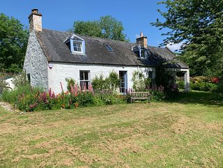 19th Century Millers Cottage with stunning views, beautifully renovated.