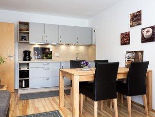Appartement 1 (45/57qm) im Parterre mit großer Wohnküche-App. 1