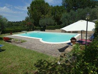 Elegante casa indipendente in campagna con piscina  oliveto, vicina al mare