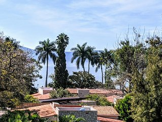 Ajijic Lakeside: Location, Views, Charm, and Quiet: Case Felicidad Has It All