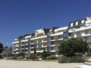 Appartement au pied de la plage Benoit