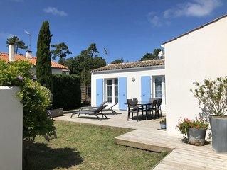 Maison oleronnaise, 8pers (4 chb) proche plage, commerces et restaurants