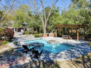 Midtown Oasis 10 min from Wrightsville Beach and Downtown