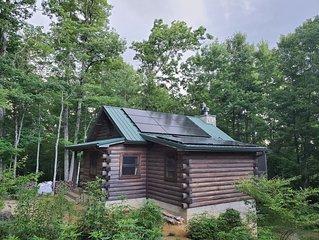 Log Cabin w Stunning Lake and Mountain Views