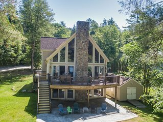The Chalet ~ Waterfront Family-Friendly Vacation Home on Sebago Lake