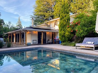 Serene Wine Country Pool Retreat