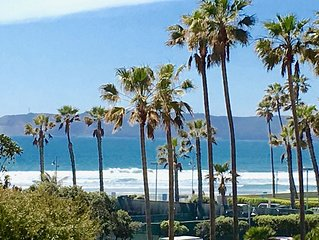 Coronado Shores 2BR 2BA Corner Ocean View, Minimum One Month Rental