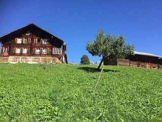 Ferienwohnung Grindelwald für 3 - 4 Personen mit 2 Schlafzimmern - Ferienwohnung