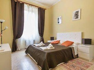 Roma: Appartamento Luminoso accanto la METRO  WIFI&A/C su Piazza dei Re di Roma