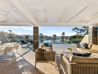 Avoca Beach Penthouse - Luxury penthouse with views across entire sweep of the b