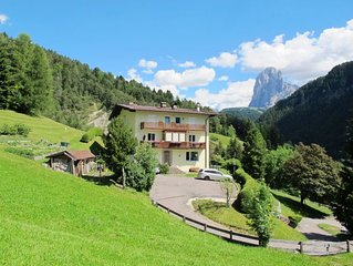 Apartment Haus Illyria  in St. Ulrich, Dolomites - 6 persons, 2 bedrooms