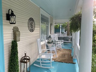 Newly Renovated, Steps From Beach, Historic District, and Park