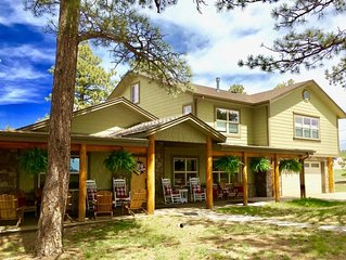Colorado Lodge, Barn & Picnics - Wedding Weekend Headquarters with Barn Venue