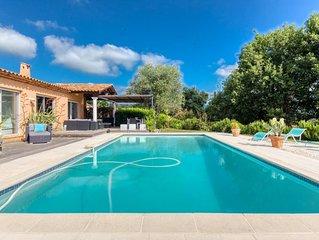 Cote d'Azur (BIOT) Superbe villa 8/10 couchages piscine privée