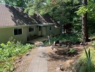 Newly Renovated Cottage On Beautiful Lot
