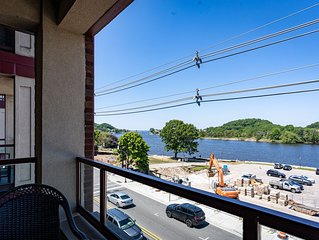 Beautifully decorated Condo w/ Balcony to enjoy all the views of the Harbor!