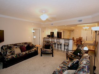Treasure Island  2BR  Beautiful gulf view, Winter Dates still available!