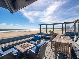 Classic Oceanfront Stinson - The Whale House