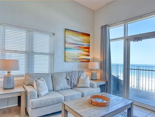 Windemere 301-Beach View From Terrace with Coastal Interior!