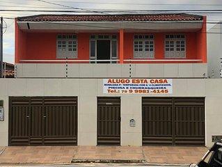 Casa com piscina na paria de Atalaia, acomoda 20 pessoas,79-********** vivo/zap