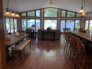 Gorgeous large home on waterfront property!!!