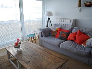 gezellig appartement, beach-house stijl, vlak bij het strand Knokke Zoute,