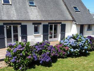 Jolie Maison de Vacances 120m²- centre et proche des plages (wifi)