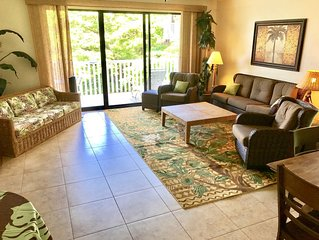 Kiahuna Plantation 2BR/2BA - Poipu Beach Condo Resort, Pool/Gym, End Unit