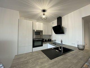 Appartement T2 neuf,   vue mer, tres calme