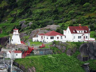 Head Light Keeper's Residence at the mouth of St. John's Harbour!