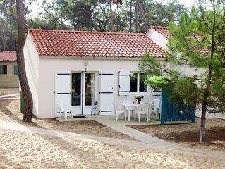 Ferienhaus Atlantique Maison T3 in Saint Hilaire de Riez - 6 Personen, 2 Schlafz