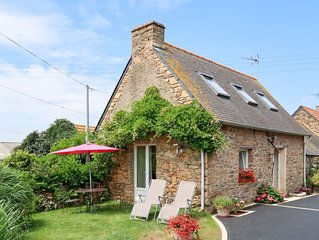 Ferienhaus L'Hirondelle (SJD202) in Saint Jean du Doigt - 2 Personen, 1 Schlafzi