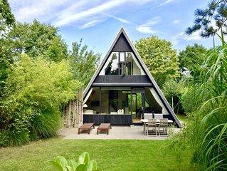 A-House nl - Top-Ferienhaus mit Garten gleich an Jachthafen, Strand und Meer