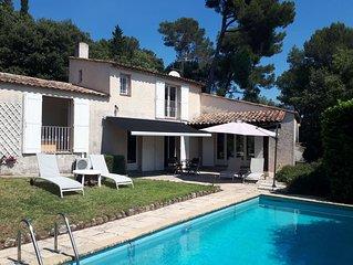 Grande maison pour des vacances sur la Côte d'Azur