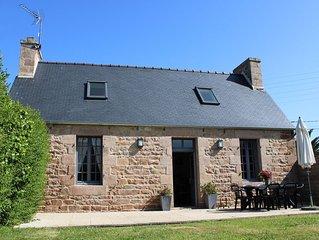 jolie maison bretonne proche du centre de Tregastel
