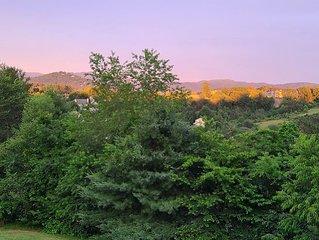 **Surround Mountain Views! 2 acres-3bd,4bd,5bd,6bd, or 7bd options-hot tub