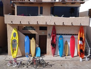 Kayaks/Surfboards/SUPs - Endless Summer Villa